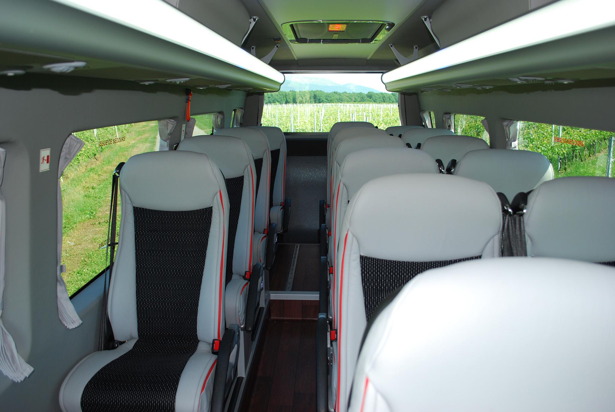BUS PREMIUM MB18 GRIS